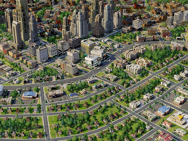 FUTURE POTENTIAL: One day perhaps suburban energy will transform cities
