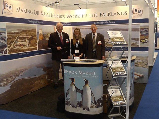 Byron Marine at Offshore Europe 2013