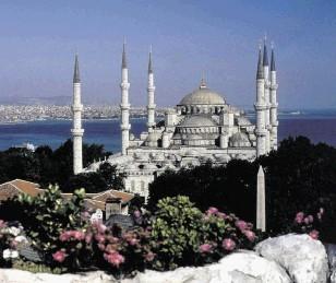Istanbul, the capital of Turkey