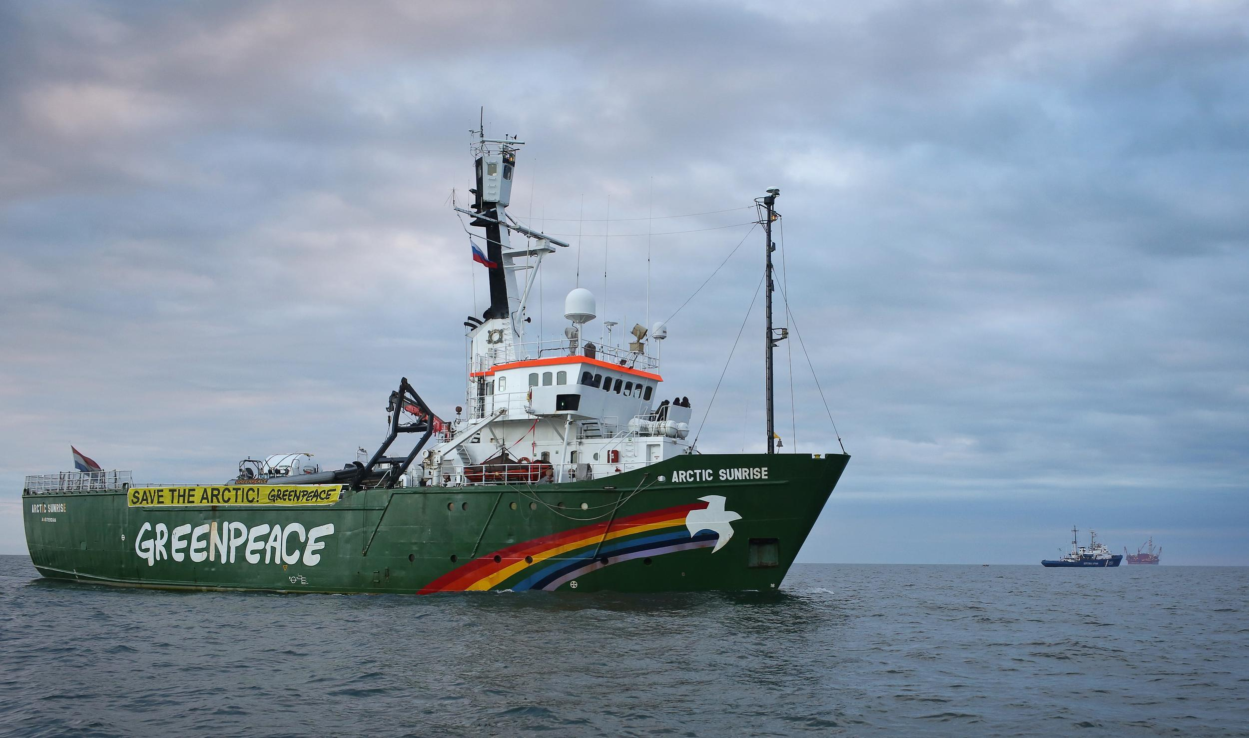 Greenpeace's Arctic Sunrise vessel