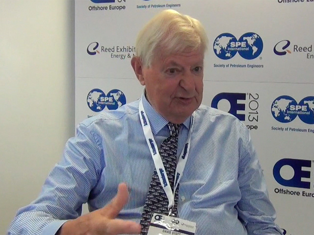 David Stott, creator of Offshore Europe