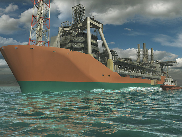 The new floating, production, storage and offloading vessel, which will replace the existing Schiehallion vessel