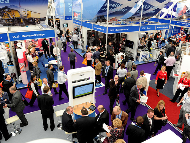 Crowds at Offshore Europe