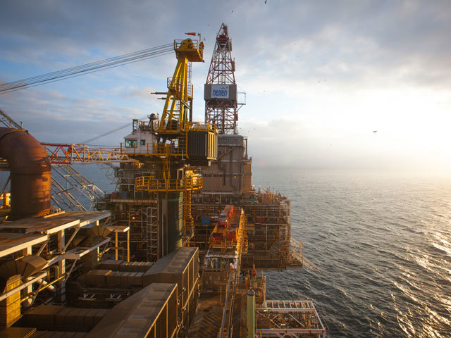 Nexen-operated Scott platform