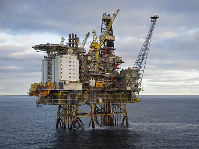Faroe will now be known as DNO North Sea. Picutred is the platform for the Brage field in Norway, which the firm owns a stake in.