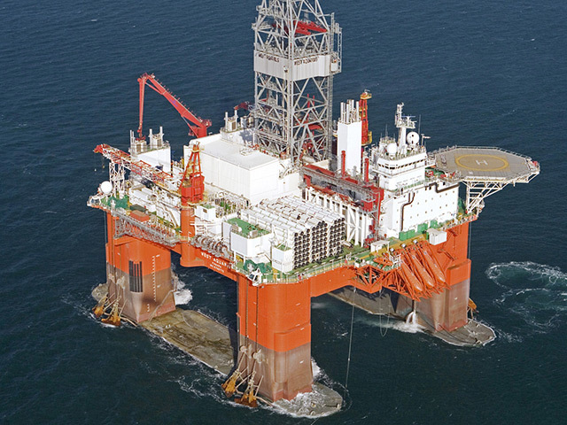 Seadrill has rolled out the Medfit programme across its global operations. Pictured is Seadrill's West Aquarius rig
