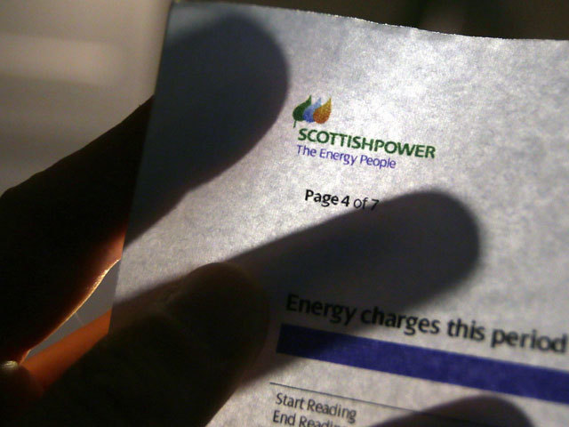 A ScottishPower bill