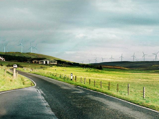 The proposed Viking windfarm development