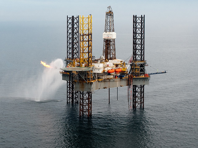 A jack-up rig