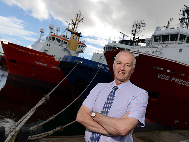 Harbour board chief executive Colin Parker