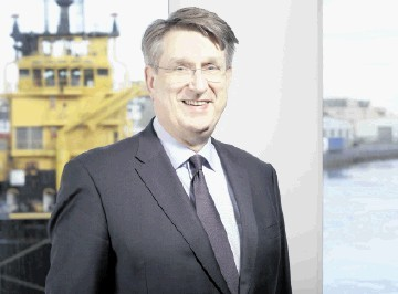 Malcolm Webb, outgoing chief executive of Oil & Gas UK