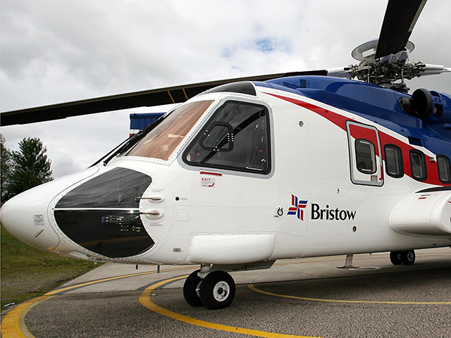 One of Bristow's Sikorsky S-92 helicopters.