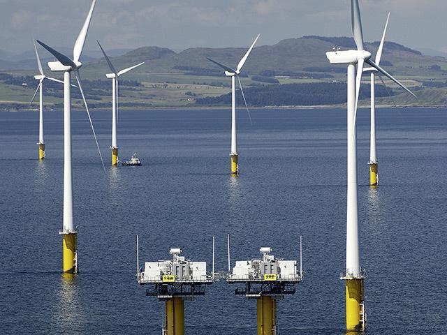 The Robin Rigg windfarm