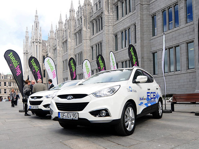 Hydrogen cars running on fuel cell technology