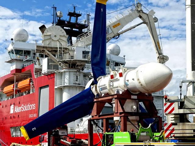 Atlantis Resources's AR1000 tidal turbine