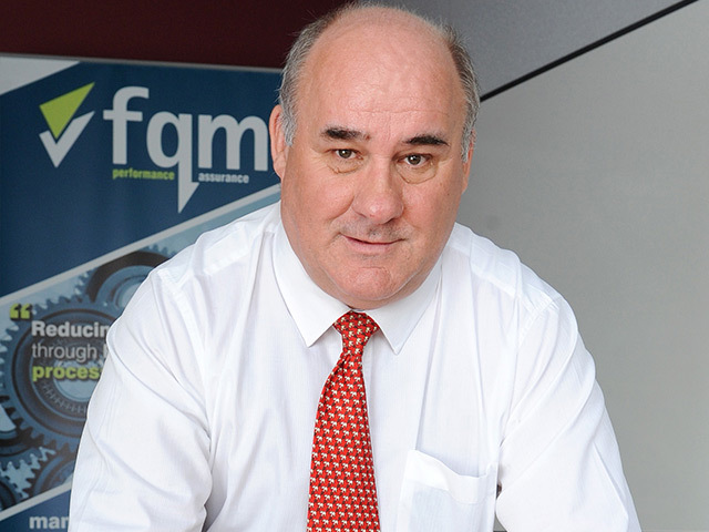 George Melvin, associate director of HSEQ at FQM Ltd