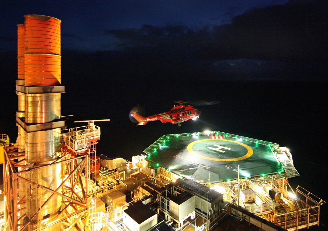 Feb: An oil worker passed away after falling from a North Sea platform