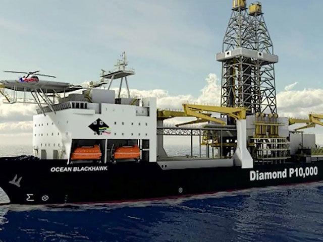 Diamond's Ocean BlackHawk drillship