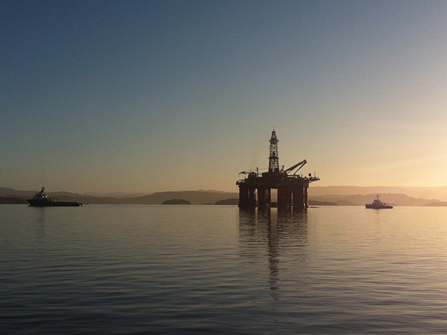The Songa Dee platform. Songa Offshore is the subject of a multi-billion dollar takeover bid from Transocean.