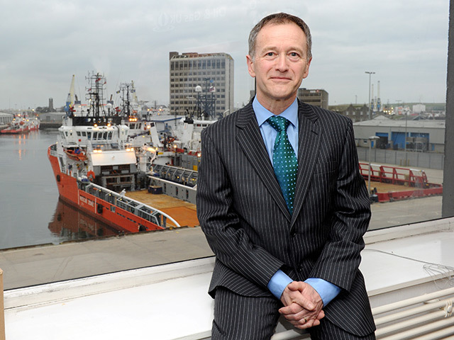 OGUK upstream policy director Mike Tholen