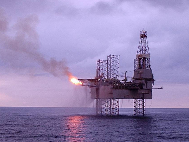 The Galaxy II jack-up rig at the Catcher field in the North Sea