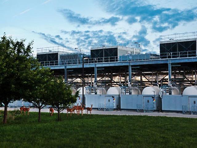 Google's data centre in Iowa