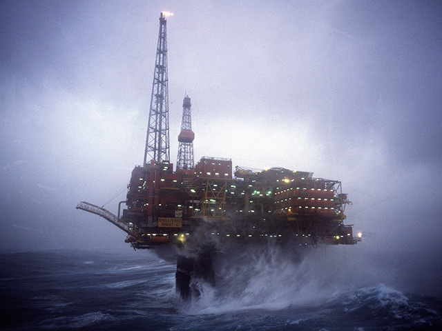North Sea oil, troubled waters