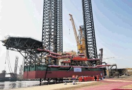 Eight rigs down, one to go for Lamprell in NDC order - News