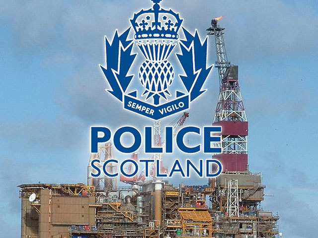 May: Around 150 workers had to be tested on the  Piper Bravo rig for  drugs following the discovery of white powder