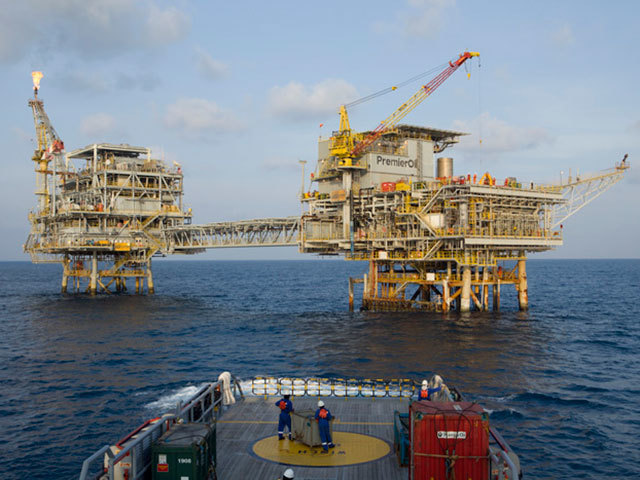 Natuna Field, one of Premier Oil's Indonesian assets
