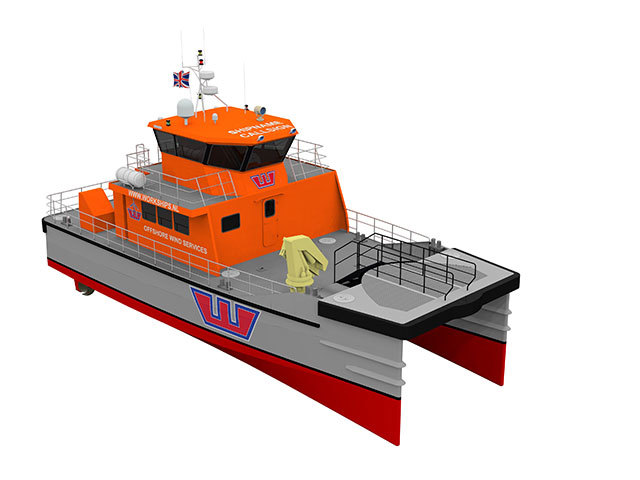 Another vessel of by Dutch ship designer, Damen