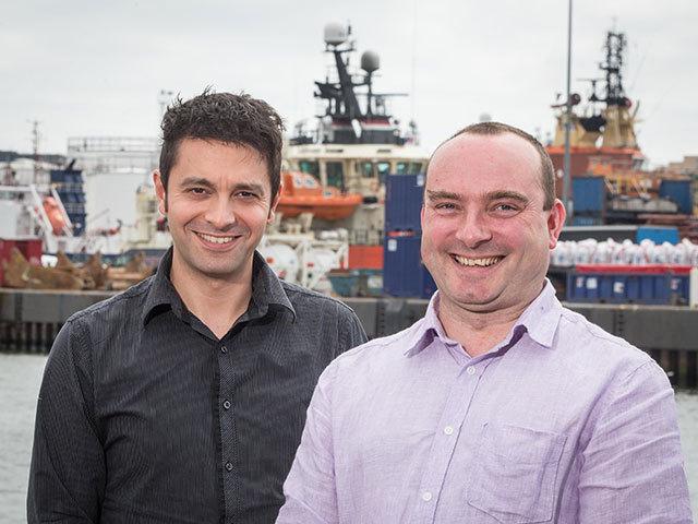 Mark Tanyous (L) and Douglas Sinclair
