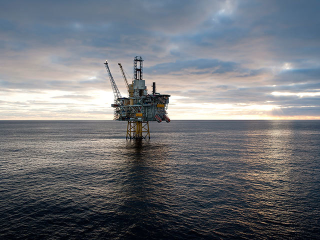 Oseberg Øst platform. Photo by Statoil