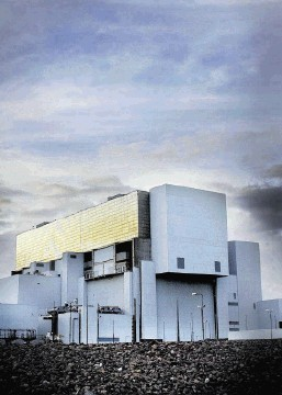 Torness nuclear power station on the coast of East Lothian