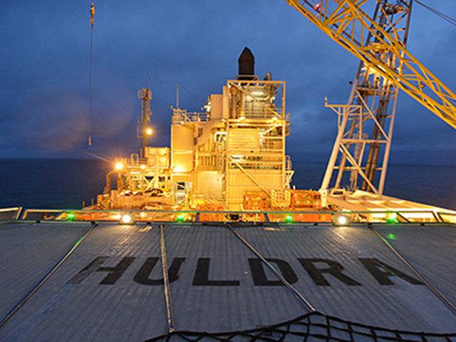 Huldra   Photo courtesy of Statoil