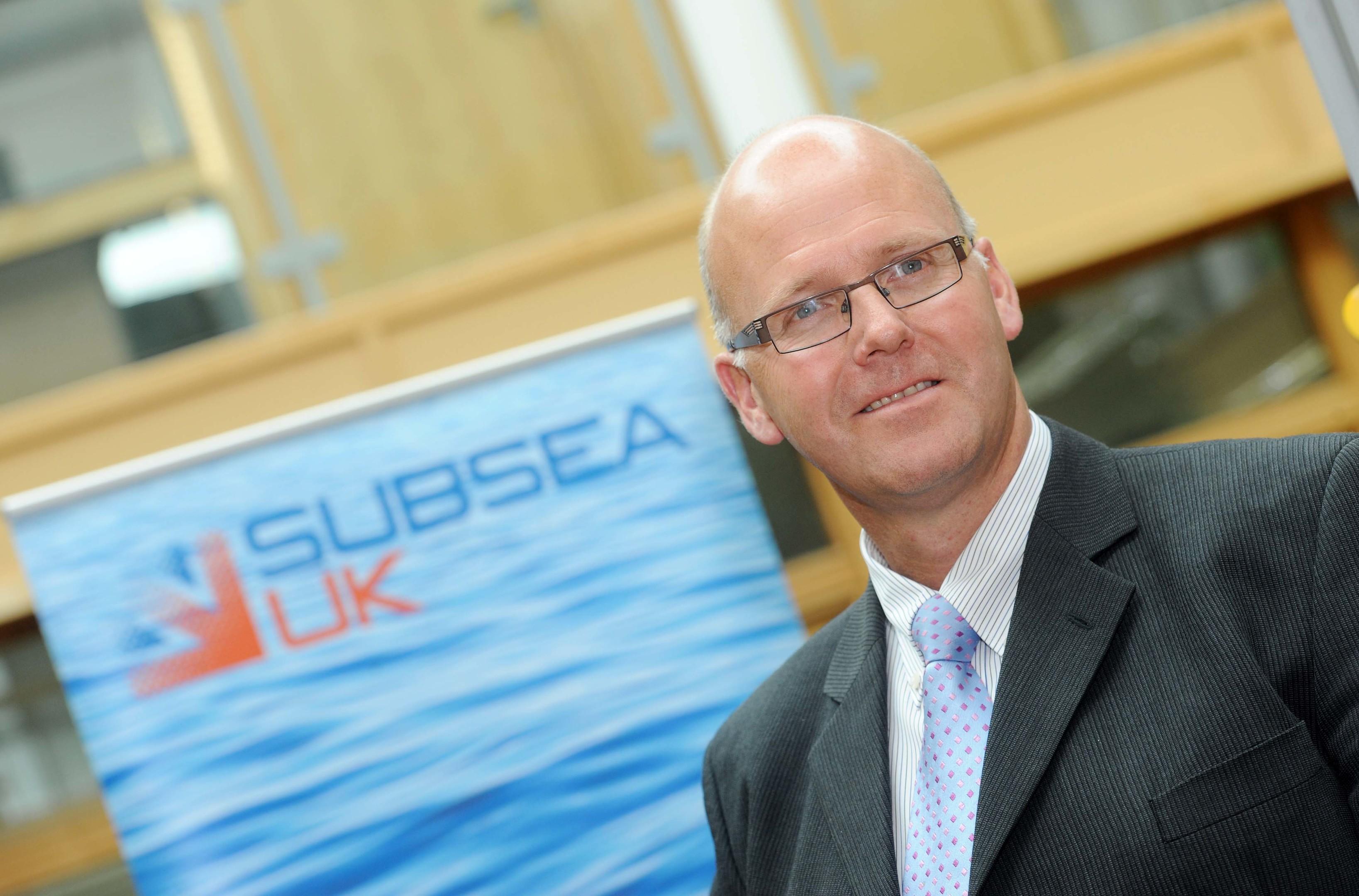 Neil Gordon, chief executive, Subsea UK