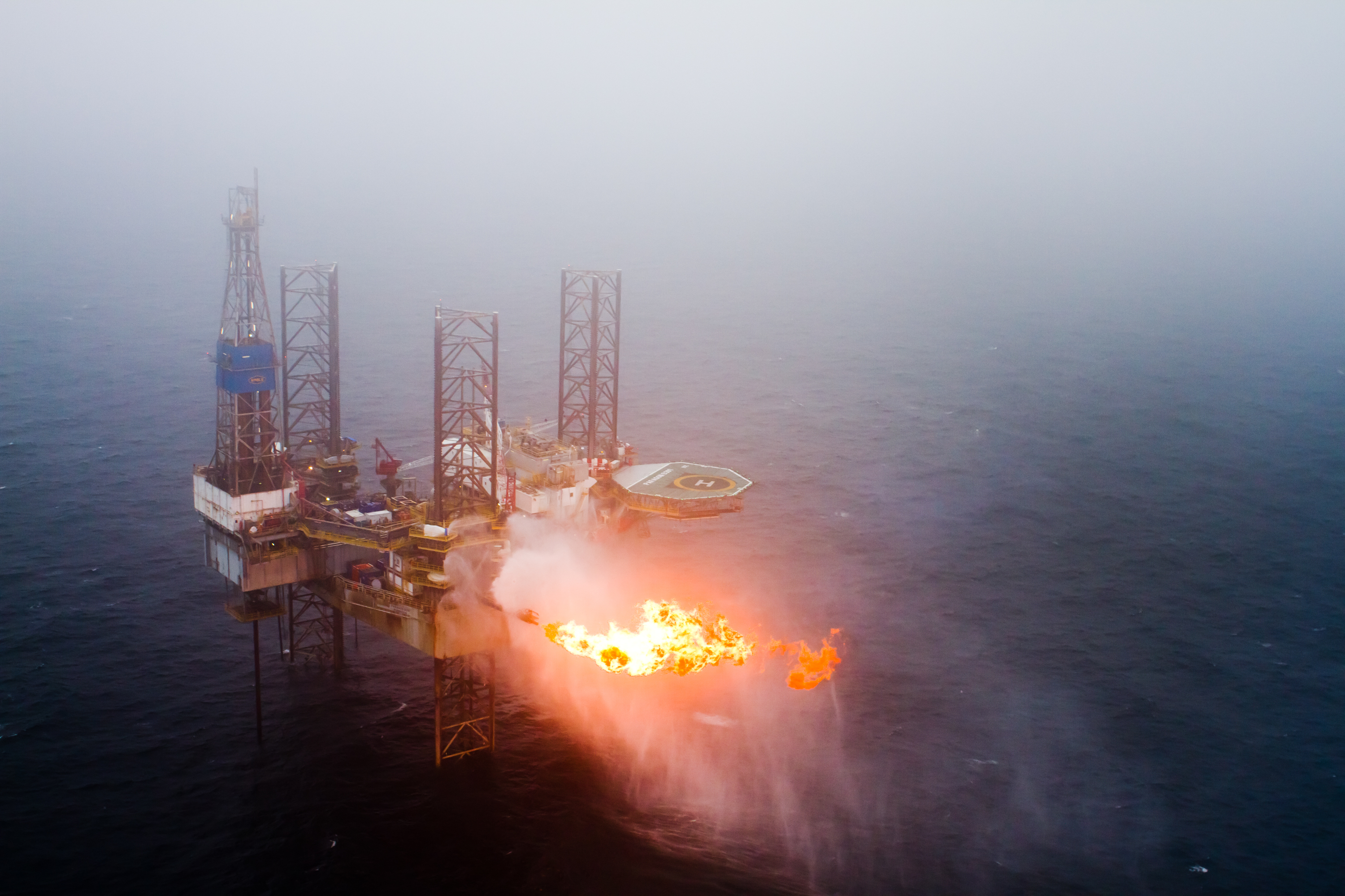 Borr Drilling's 391 jack-up rig, formerly owned by Paragon, struck gas on Pegasus West in 2014.