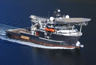 The Olympic Ares vessel