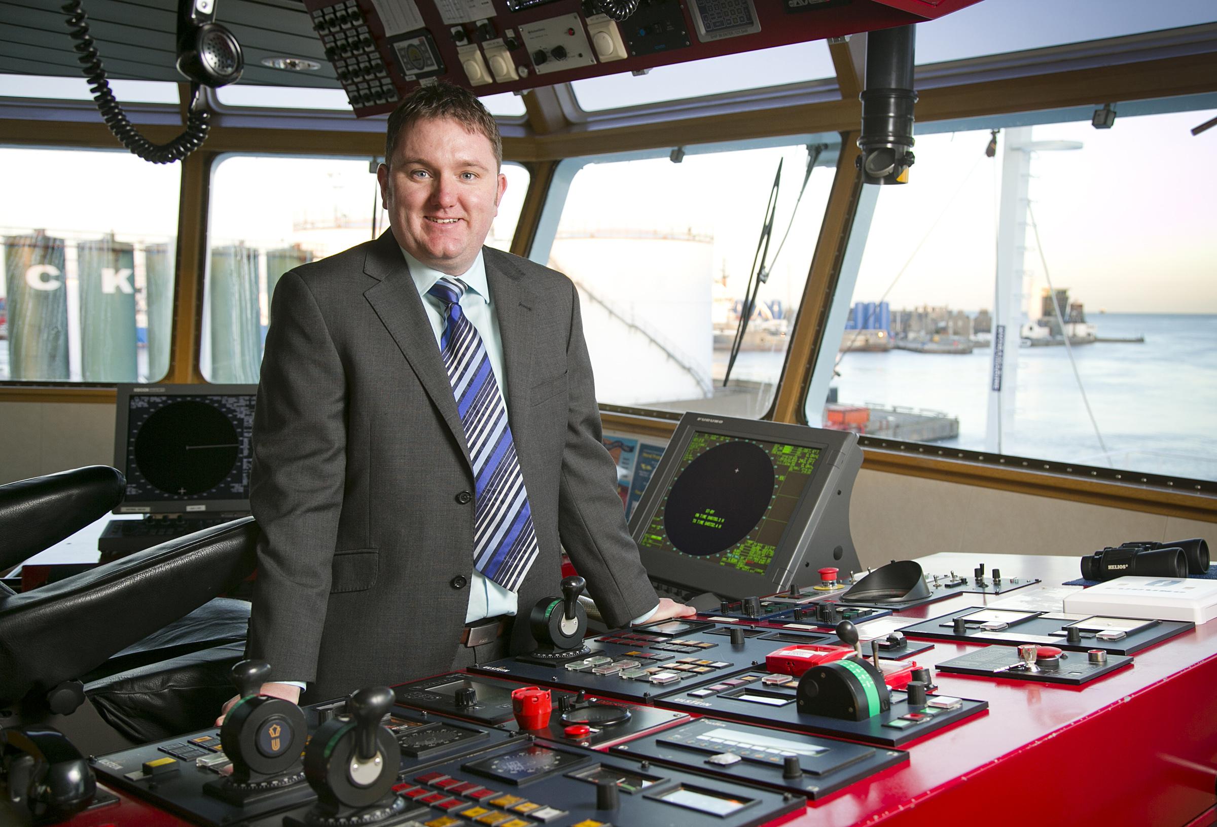 Matthew Gordon has joined Atlantic Offshore Rescue