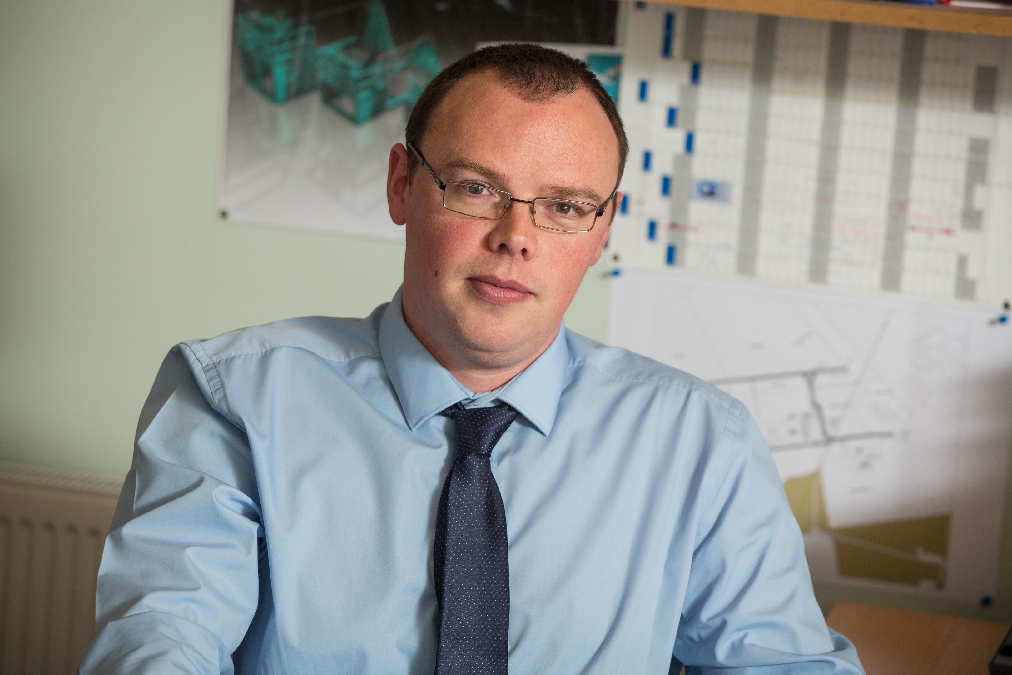 Director of Motive Offshore Group, James Gregg