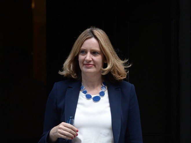 UK Home Secretary Amber Rudd