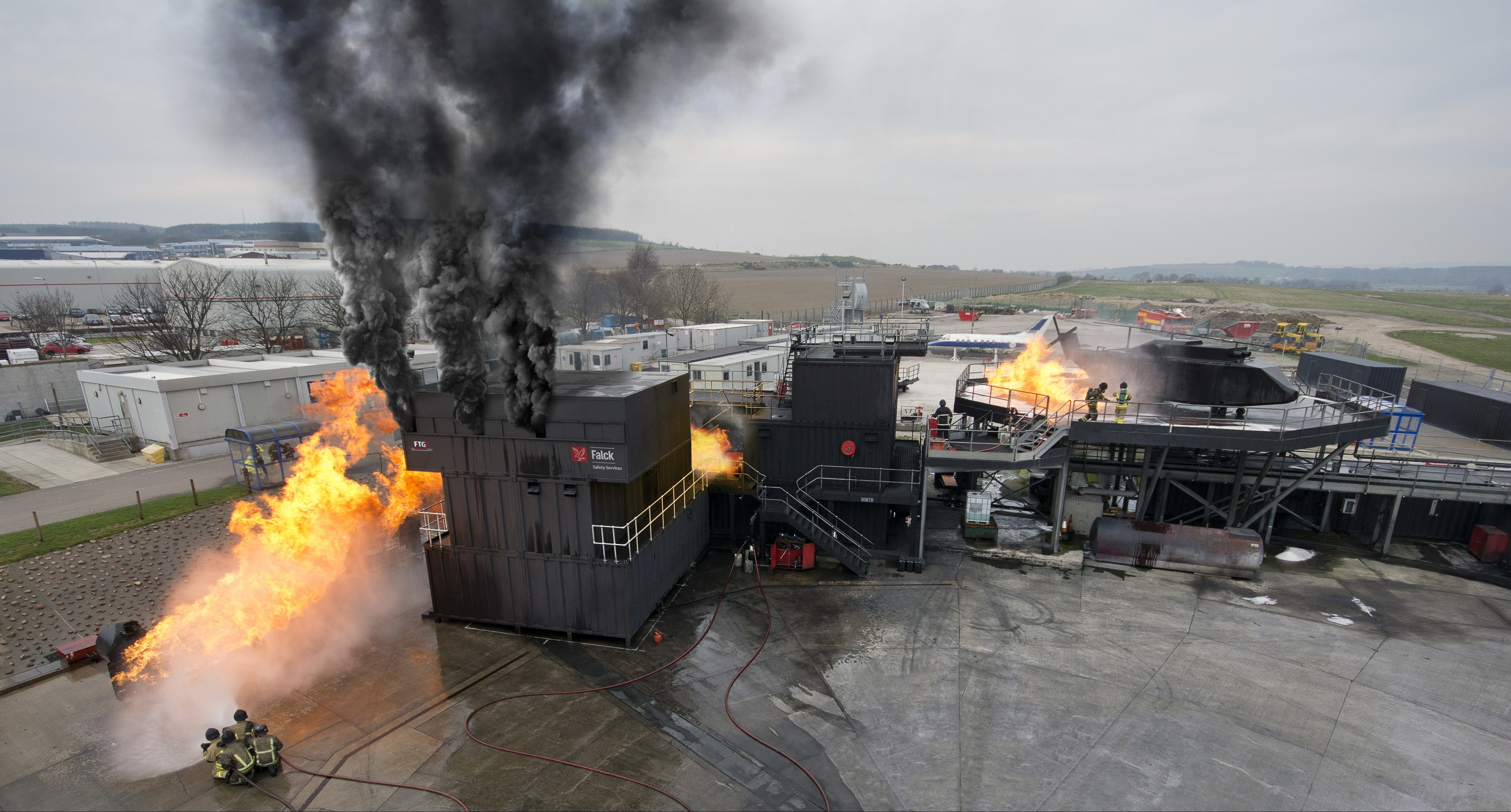 Falck Safety Services are giving the chance to prepare for real-life emergencies