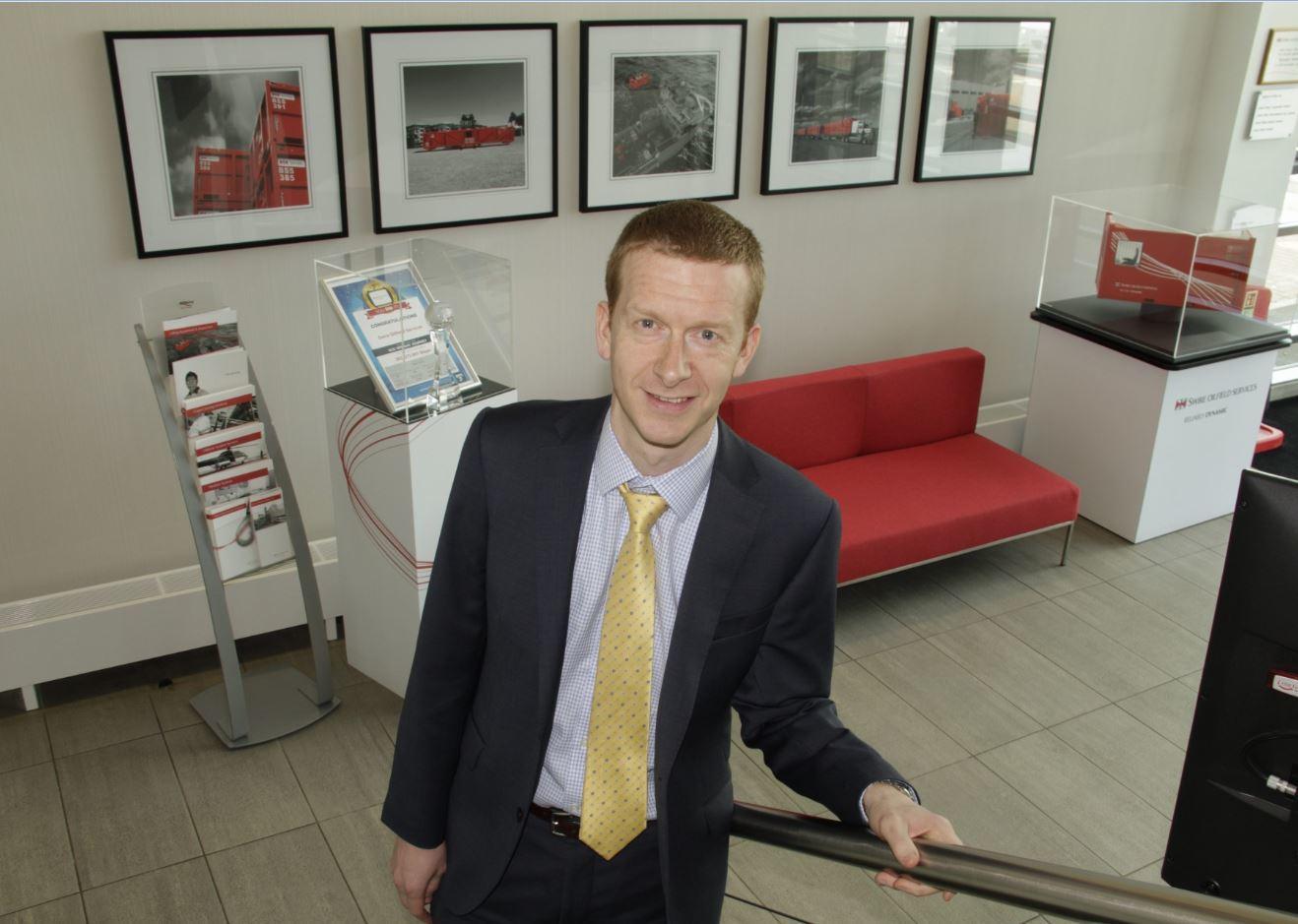 Roy Shearer, of Swire Oilfield Services