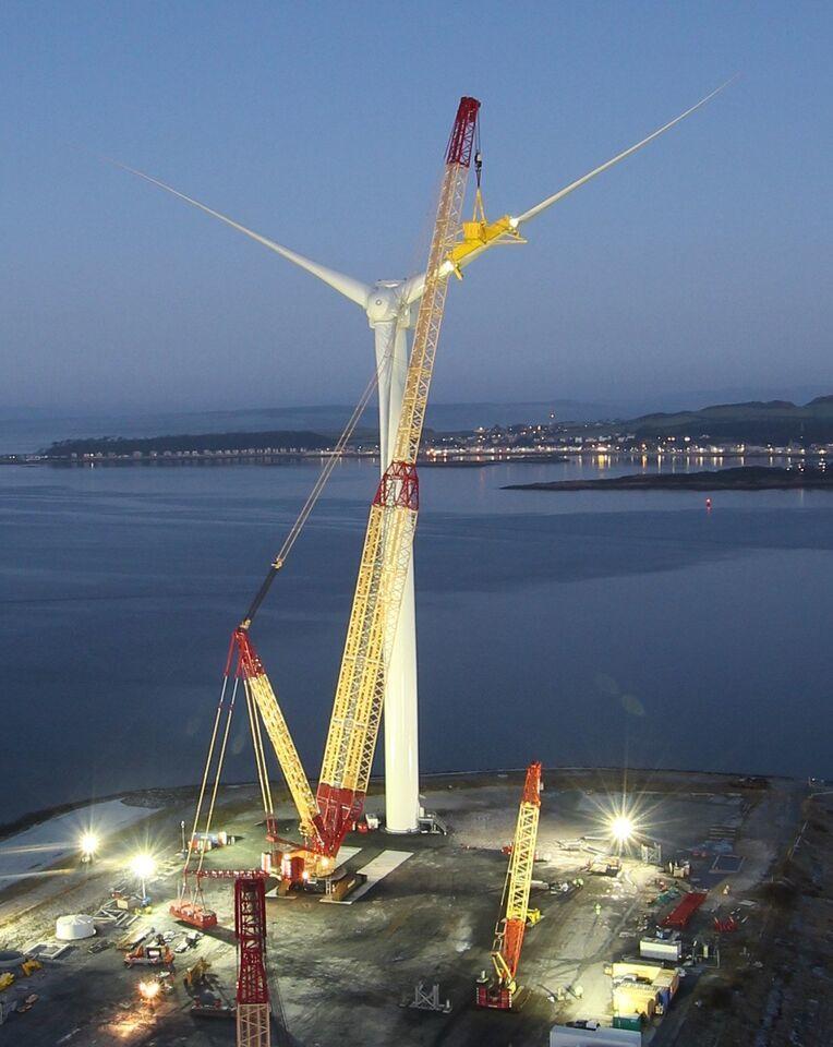 Artemis mega turbine