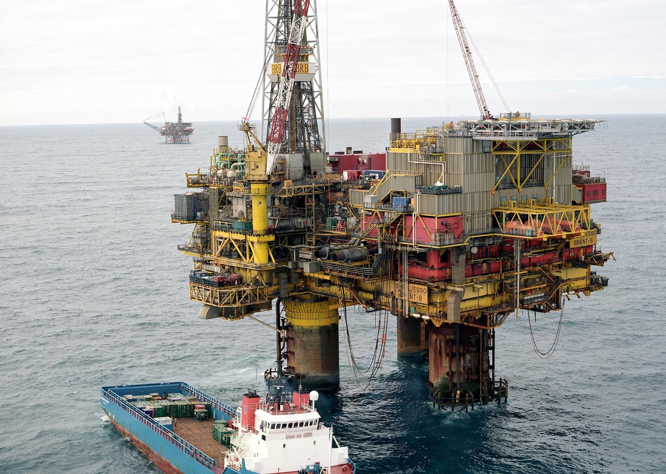 Shell's Brent Bravo platform