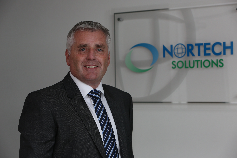 Nortech's managing director Bryan Bunn