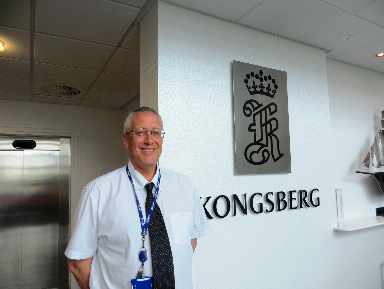 Frank Maclean of Kongsberg Maritime