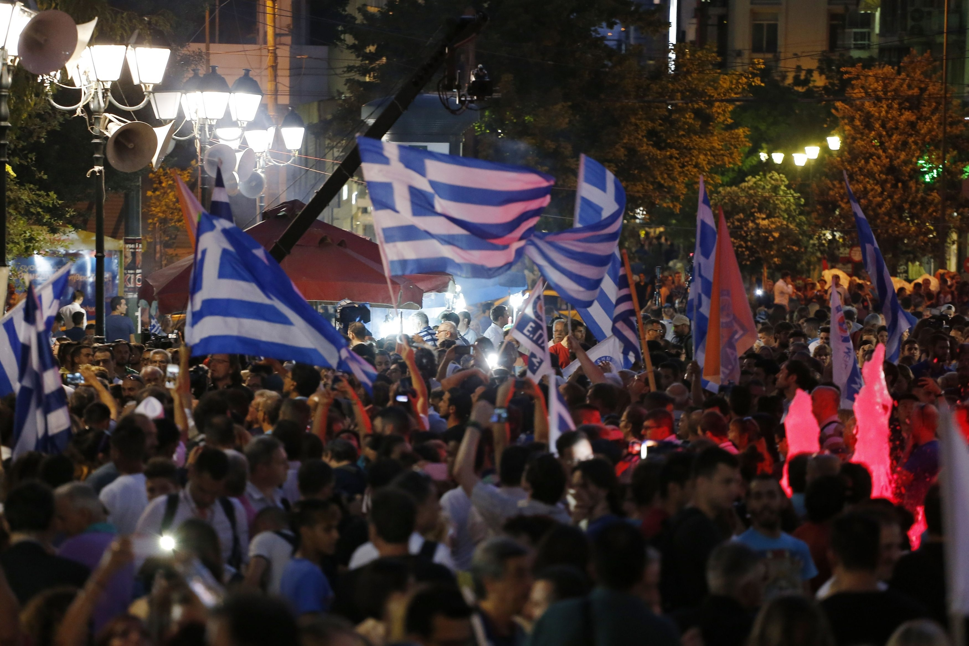 Greece's energy minister votes against bailout measures