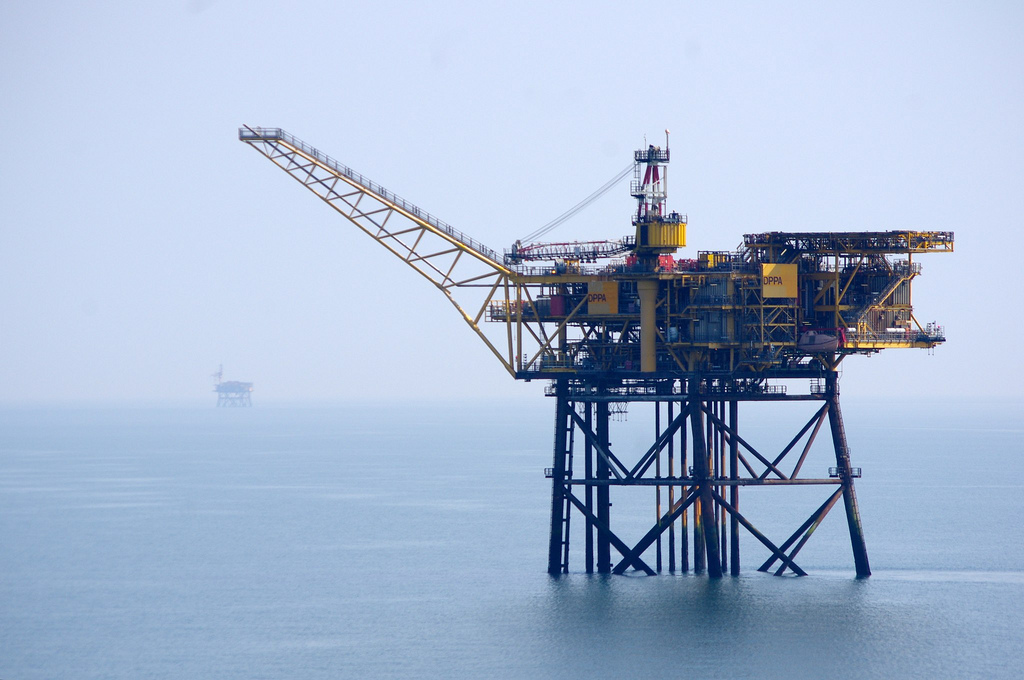 Spirit Energy's North Morecambe platform in the East Irish Sea.