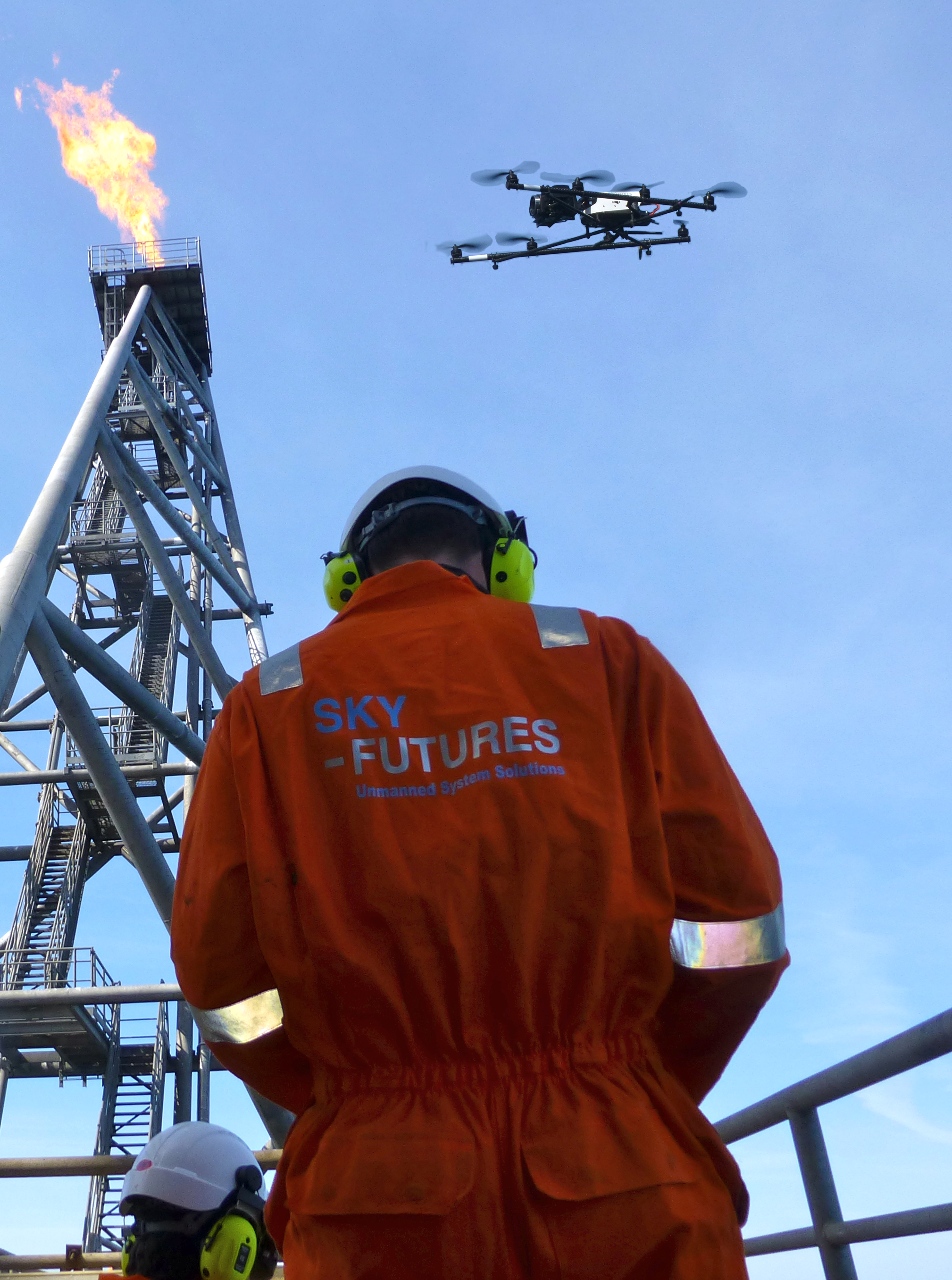 Drones used for oil and gas inspection
